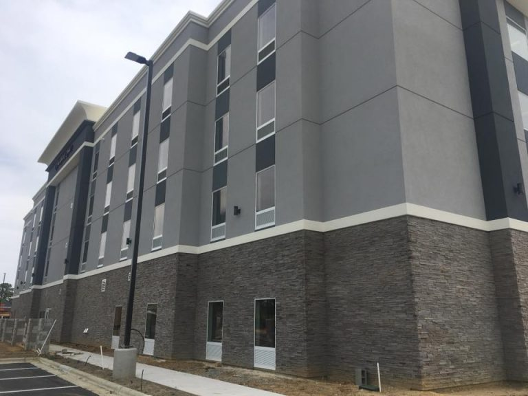 Commercial Stucco Exterior Raleigh